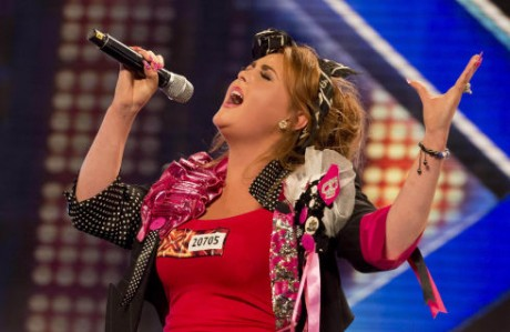 jade collins x-factor audition 2012