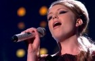 "Ella Henderson, 16, ""Loving You"" Minnie Ripperton – X Factor UK live"