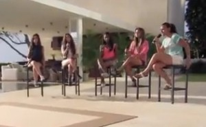 "LYLAS sing ""Impossible"" by Shontelle in X Factor USA judges houses"