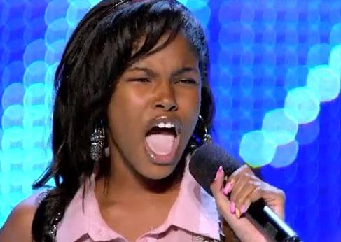 Diamond White Usa >> 13 Yr Old Diamond White I Have Nothing In X Factor Usa Bootcamp