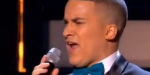 "Jahmene Douglas sings ""I say a little prayer"" by Aretha Franklin in X Factor live"