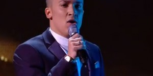"Jahmene Douglas sings ""Imagine"" on X Factor UK live shows"