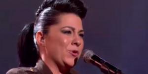 "Lucy Spraggan sings her own ""Titanium"" on X Factor live"