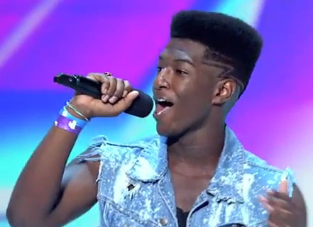 Willie Jones X Factor USA