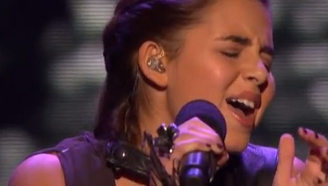Carly Rose Sonenclar sings It Will Rain from the Twilight Saga movie on X Factor