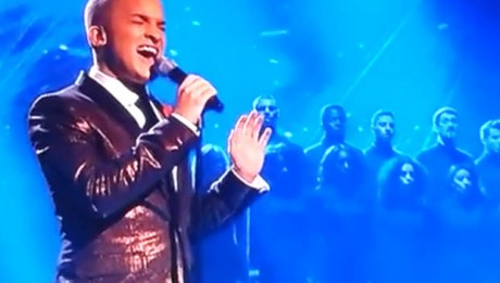 Jahmene Douglas sings Angels on X Factor UK live week 6