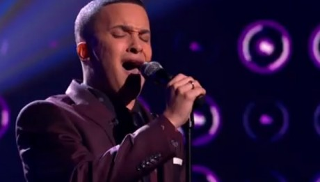 Jahmene Douglas sings Listen by Beyonce in X Factor UK live week 5