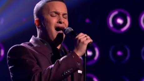 Jahmene Douglas sings Listen by Beyonce in X Factor UK live week 5
