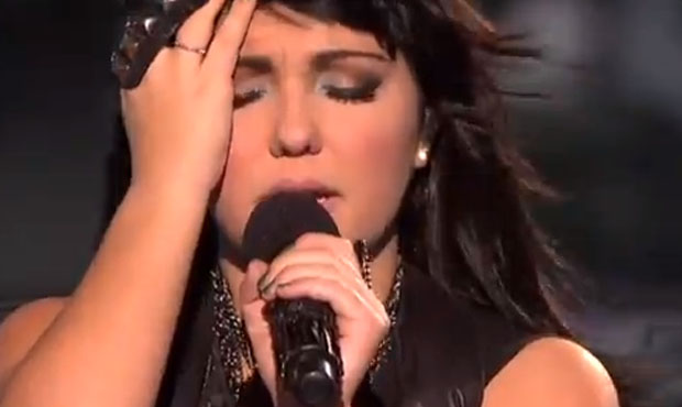 Jennel Garcia Home Sweet Home by the Motley Crue X Factor USA live